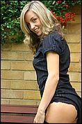 When Mel wears her stockings with a short skirt it turns her on so much Mel just cant get enough of them.