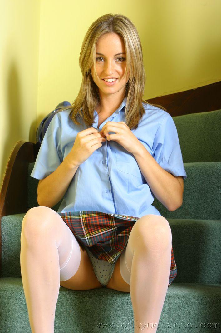 Lovely hot teen schoolgirl chicas turn on!