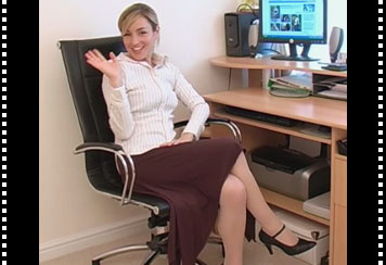 Video of Melanie the sexy secretary